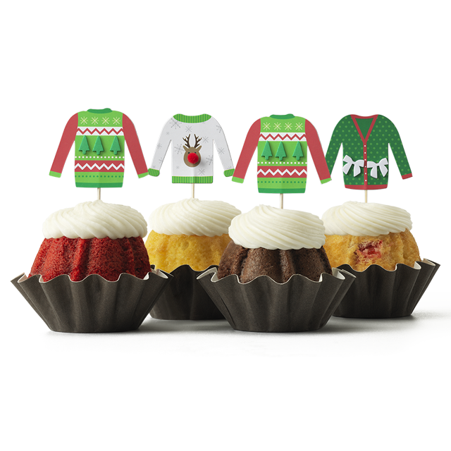 Ugly Sweaters Bundt Cake