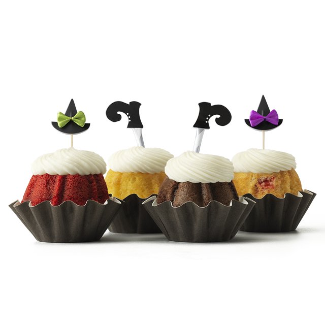 Witches' Hats and Boots Bundt Cake