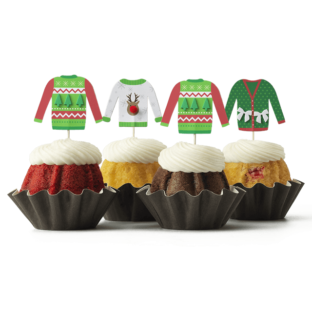 Ugly Sweater Bundt Cake
