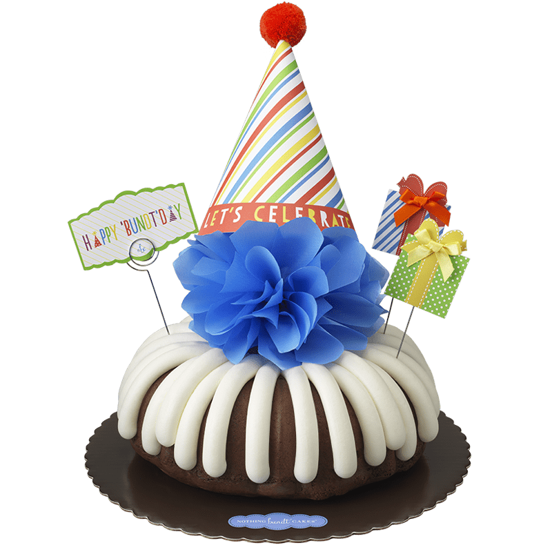 Happy 'Bundt'day Bundt Cake