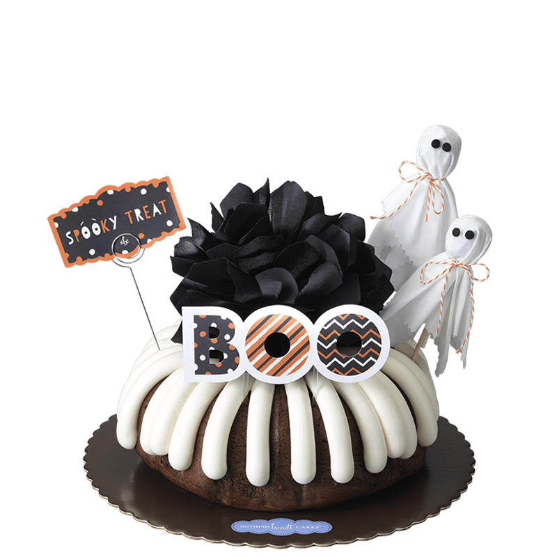 Spooky Treat Bundt Cake