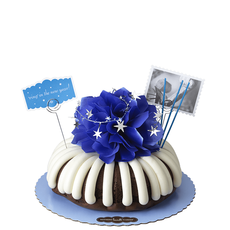 Ring in the New Year Bundt Cake