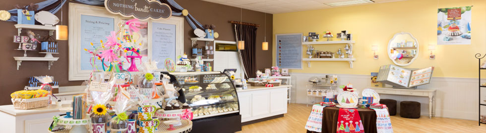 Interior of a Nothing Bundt Cakes Store