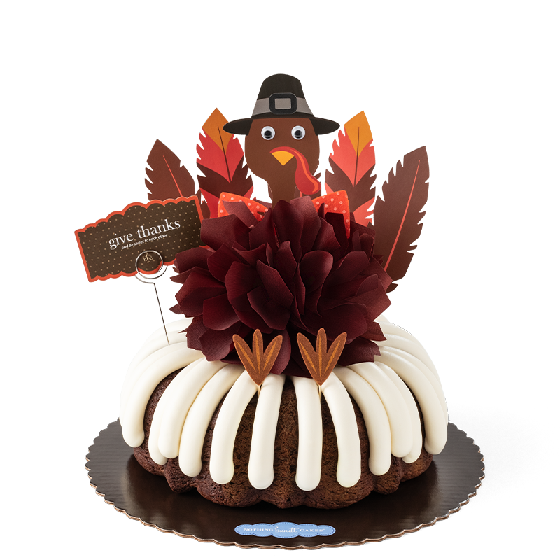 New! Give Thanks Bundt Cake